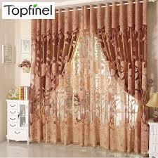 rideaux pour fenetre de chambre top finel moderne de luxe brodé sheer rideaux pour salon chambre