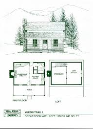 apartments log cabin style house plans e Story Log Home Floor