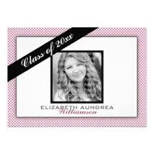 cheap pretty floral pink graduation announcements pretty floral