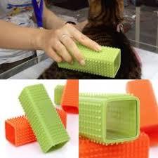 Garu Sisir pet anak anjing kucing dandan jari mandi pijat garu sisir sikat