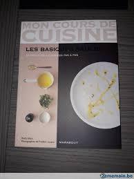 cours de cuisine hainaut mon cours de cuisine a vendre 2ememain be