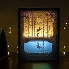 light box light bulbs amazon com belleyple christmas 3d papercut light boxes night light