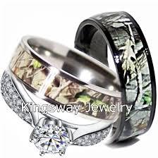 titanium wedding ring sets for him and camo wedding ring set for him and titanium black ip