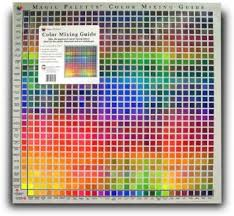 buy color mixing guide magic palette studio color guide 841
