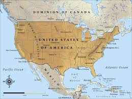 combined map of usa and canada canada mexico map