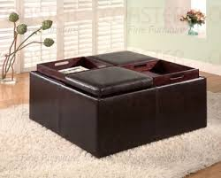 fancy square ottoman with storage image of ottoman coffee tables