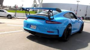 voodoo blue porsche porsche 991 gt3 rs sound u0026 991 gt3 lovely sound hd youtube