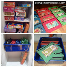 Dollar Store Shoe Organizer Puzzle Clutter Drives Me Bananas Puzzle Storage Pencil Pouch