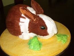 rabbit cake bunny themed baking rabbit cakes