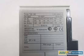 new abb 1sda051018r1 sace tmax t2s 160 4p 25a 690v ac circuit