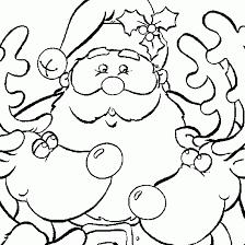 santa sleigh coloring pages santa snowman coloring