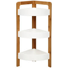 furniture endearing corner shelf for bathroom embedbath
