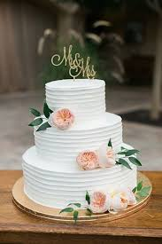 simple wedding cakes simple and flowered wedding cake summer