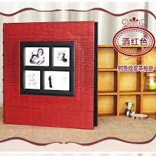 Leather Photo Album Personalized Aliexpress Com Buy Extra Large Leather Photo Album Polaroid