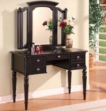 vanity black vanity set with zebra bench black vanity and bench