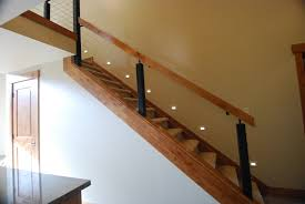 Banister On Stairs Decor Winsome Contemporary Stair Railing With Brilliant Plan For