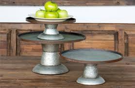 galvanized cake stand stands galvanized metal cake stand wedding cake stands