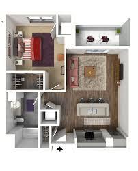 luxury studio 1 2 3 bed apts in madison wi 22 slate 1 bedroom floor plan 3 3d luxury madison apartments 22 slate