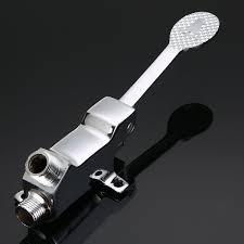 single handle foot pedal valve faucet kitchen bathroom copper