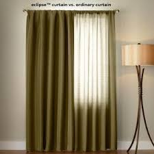 Navy Blackout Curtains Eclipse Microfiber Blackout Navy Grommet Curtain Panel 63 In