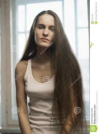 young with long hair royalty free stock images image 24511749