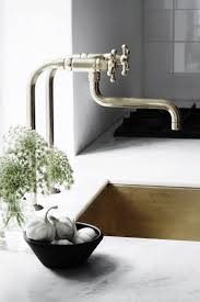 sinks faucets stunning contemporary stylish gold polished brass full size of modern stylish industrial stainless steel industrial kitchen faucet with undermount single bowl white