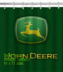 John Deere Home Decor Nh New Holland Kids Tractor Shower Curtain Bathroom Home Decor