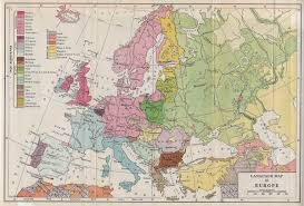 Ethnic Map Of Europe by Maps Of Europe