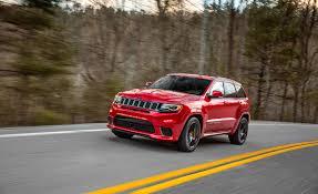 jeep grand cherokee srt red 2018 jeep grand cherokee srt trackhawk ultimate car rentals