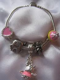 tooth fairy gift childrens kids charm bracelet peppa pig tooth fairy gift bag