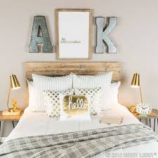 Hobby lobby initials over headboard