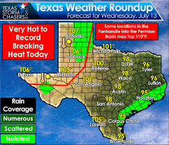 Texas Weather Map Ridiculous Heat U0026 A Rogue Storm Today U2022 Texas Storm Chasers