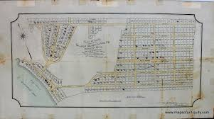 plan of lots owned by the silver beach land co of brockton mass