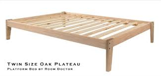 Oak Platform Bed Size Solid Oak Platform Bed Frame Eco Friendly Clean
