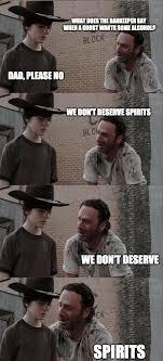 Rick And Carl Meme - 296 best twd carl rick memes images on pinterest funny stuff