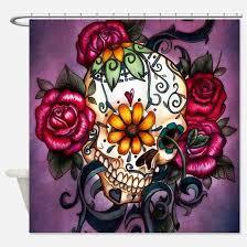 Skull Bathroom Accessories by Sugar Skull Bathroom Accessories U0026 Decor Cafepress