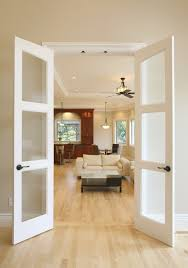 Interior French Closet Doors by Decor French Closet Doors With Frosted Glass Deck Entry
