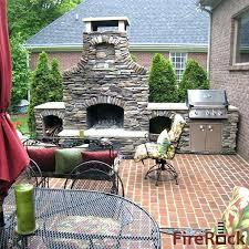 Stone Fireplace Kits Outdoor - prefabricated outdoor fireplace kits u2013 mmvote
