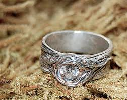 artisan wedding rings nature engagement twig ring tree bark unique tree knot unique