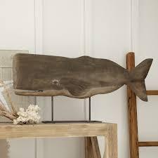 wood whale decor reviews birch
