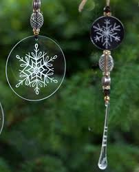 engraved glass decorations free craft project