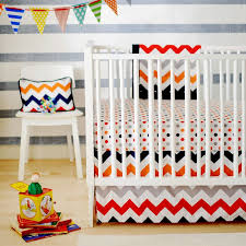 Baby Boy Chevron Crib Bedding Circus Spot Crib Bedding Set Rosenberryrooms