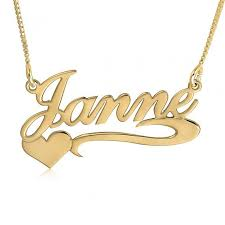 Gold Nameplate 12 Best Gold Name Necklace Images On Pinterest Gold Name