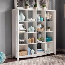 Revolving Bookcase Ikea Amazon Com Aero 16 Cube Bookcase Room Divider Kitchen U0026 Dining