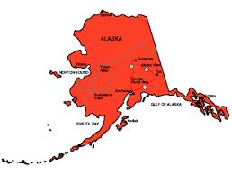 alaska major cities map alaska facts symbols tourist attractions
