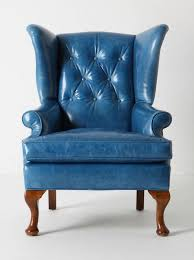 Traditional Armchairs Leather Wingback Chair Us House And Home Real Estate Ideas