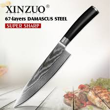 pro kitchen knives xinzuo 8 inch blade pro chef knife 67 layers vg10 damascus
