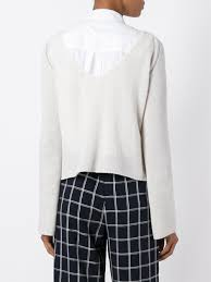 plaid en cachemire forte forte jupes culottes forte forte pull classique en