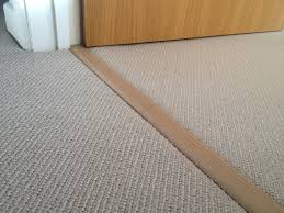 Transition Carpet To Hardwood Rustic Carpet To Tile Threshold New Decoration Installation Of