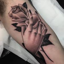 really good to be back and tattoo this neo traditional hand and